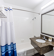 The Pacific - Updated Guest Bathroom - The Pacific